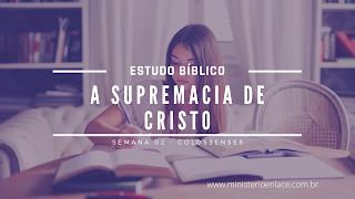 estudo bíblico colossenses