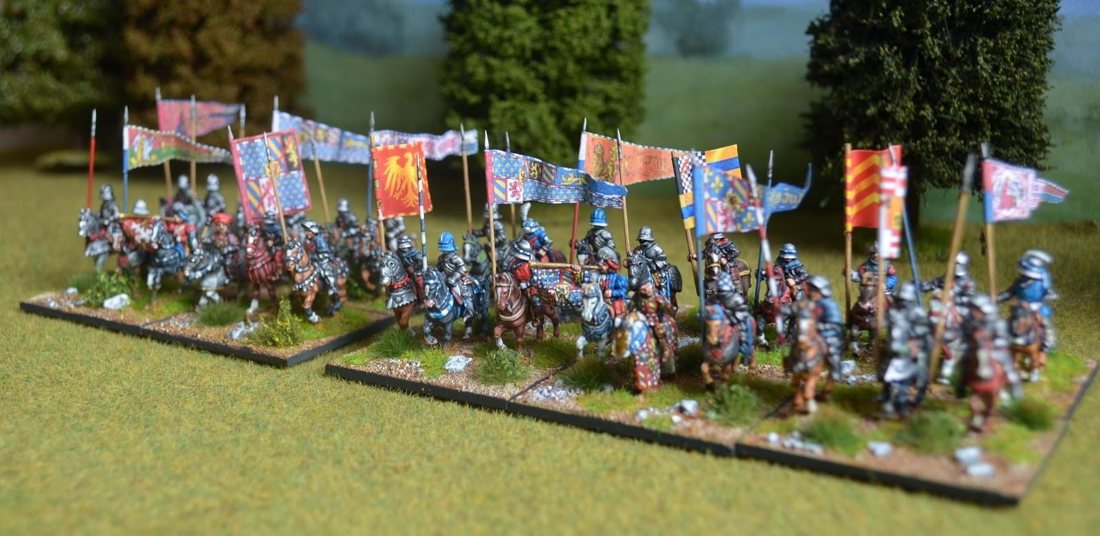 15mm Medieval Renaissance Italian Wars Landsknecht Flags 1