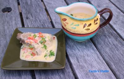 Carole's Chatter: Creamy Shrimp Sauce