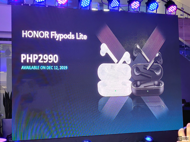 HONOR FlyPods Lite TWS earphones released in PH, priced at PHP 2,990!