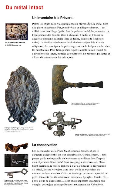 """Du métal intact : """"Un inventaire à la Prévert..."""""""