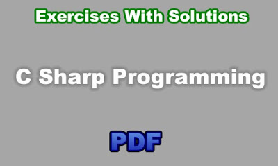 C# Programming Exercises With Solutions PDF