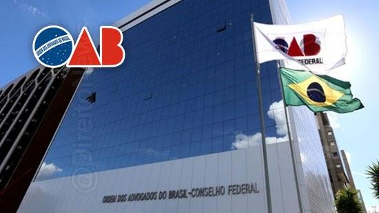 oab mude nome ordem advocacia brasileira