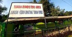 Wisata Taman Rimba Jambi Ditutup, Pengunjung Terpaksa Putar Balik