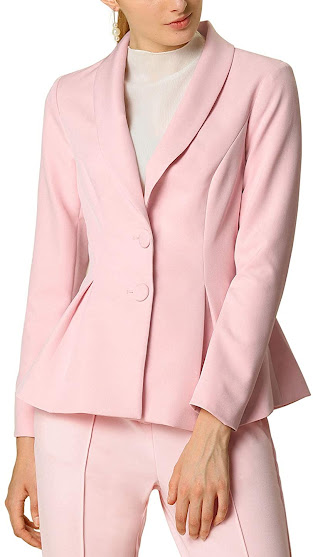Women's Pink Blazers For