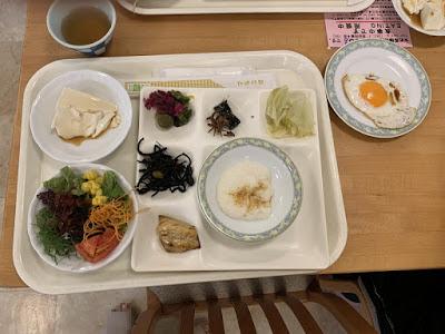 新玉川温泉の朝食