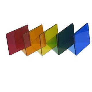 Colored-glass