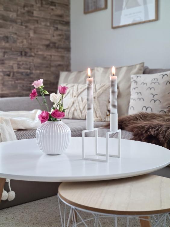 decorare con le candele