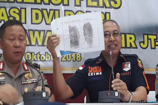 Satu Korban Lion Air Berhasil Diidentifikasi dari Sidik Jari, Namanya Janatun Cintya Dewi