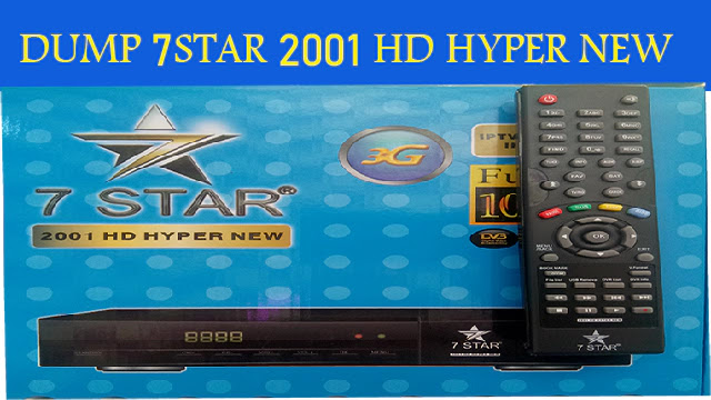 DUMP 7STAR 2001HD HYPER NEW