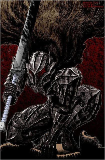 10 objetos del manga en Dungeons & Dragons - Armadura del Berserk