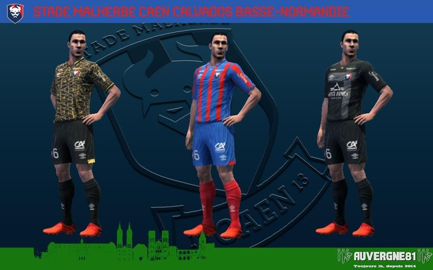 Kits SM Caen 2021-2022 For PES 2013
