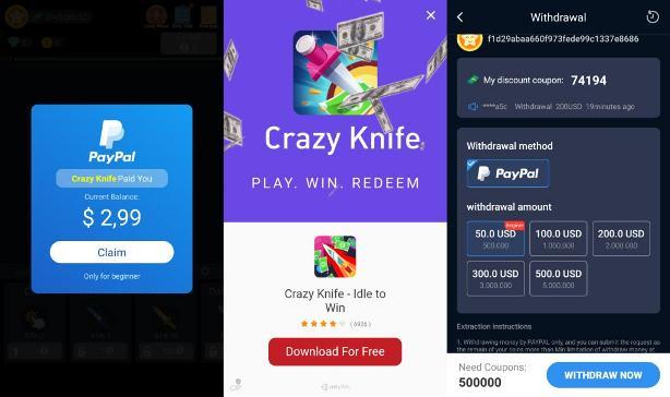 crazy knife benarkah membayar