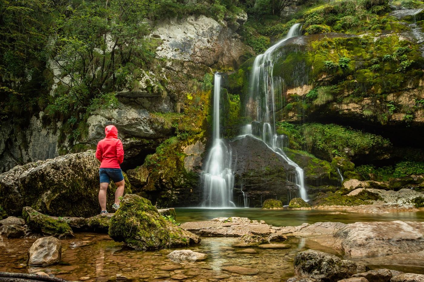 Wodospad Virje Słowenia