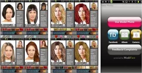 Edit Foto dan Mengubah Warna Rambut Di Android