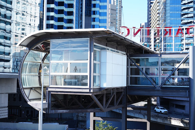 Abandoned Darling Park Monorail Station