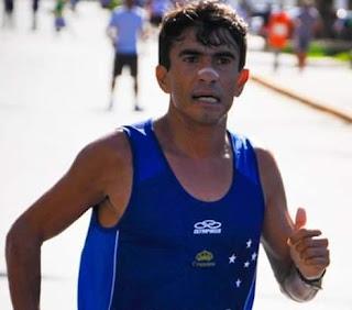 Atleta Marcos Antonio representa Picuí em corrida no Ceará
