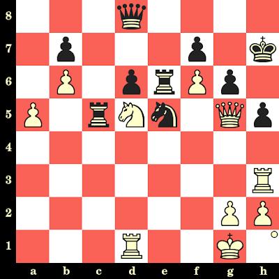 Les Blancs jouent et matent en 4 coups - Joel Lautier vs Jean-René Koch, Lyon, 1990