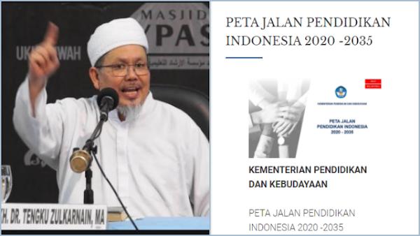 Kata 'Agama' Hilang dalam Visi Pendidikan Indonesia 2035, Tengku: Sengaja Dibuang?