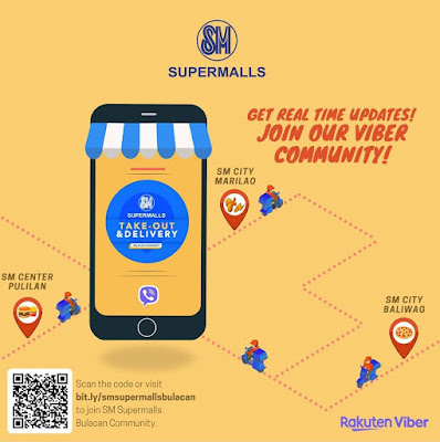 SM BULACAN MALLS LAUNCH VIBER COMMUNITY FOR EASY, SAFE SHOPPING
