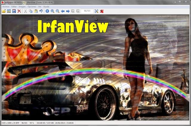 IrfanView 4.44 + Español + Pluggins | Nueva versión de este popular visor y editor de imágenes