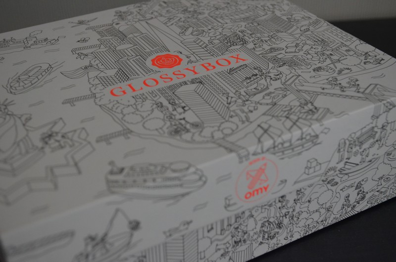 Glossy, glossybox, Glossybox 2015, Glossybox Rock the City, glossybox septembre 2015, Glossybox review, Les GlossyBox, revue glossybox,