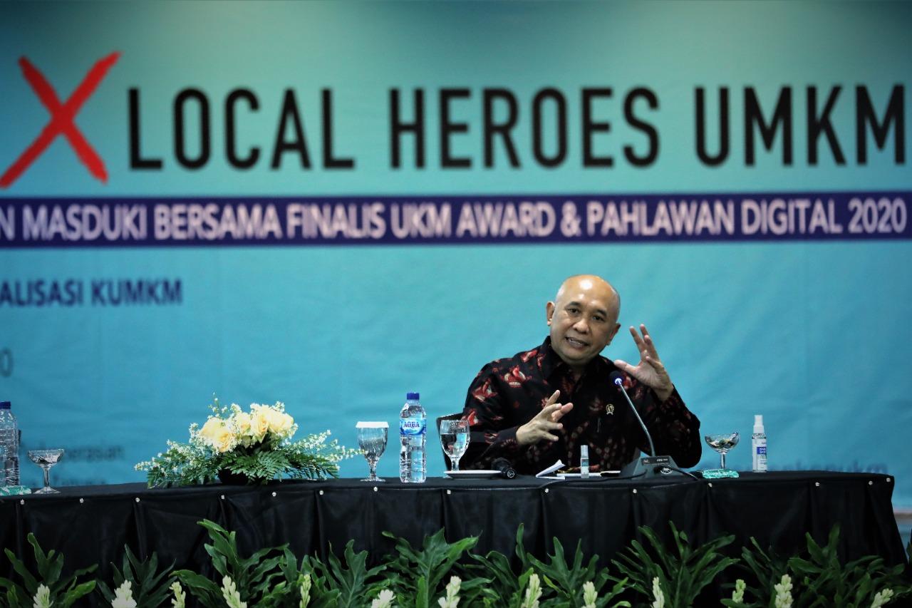Pahlawan Digital dan UKM Award Jadi Role Model Pelaku UMKM Masa Depan