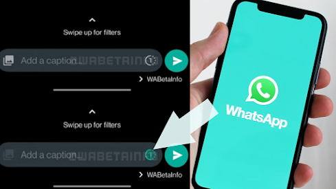 يقوم WhatsApp بنشر الصور ومقاطع الفيديو التي تم تعيينها للعرض مرة واحدة!