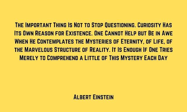 Einstein Curiosity Quotes