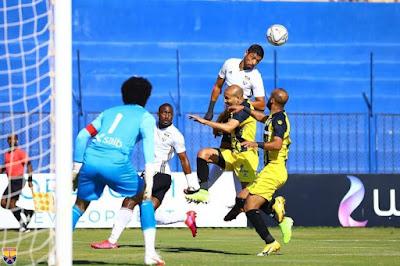 اهداف مباراة المقاولون العرب والجونة (3-2) الدوري المصري