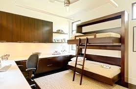 Bunk Wall Bed Original Wood