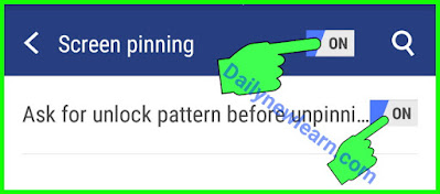 Use of Screen Pinning: How to pin and Unpin  in Android & iPhone