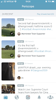 Periscope Mobile App Warminster Town Football Club