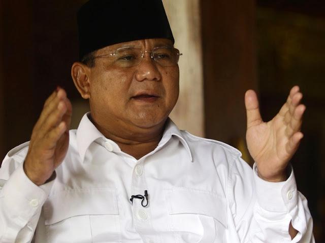 Prabowo Ubah Nama Program Karena Tak Digemari Kaum Milenial