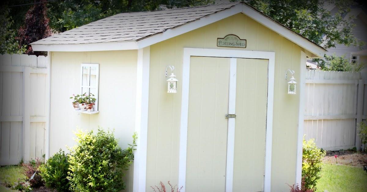 storage shed paint ideas