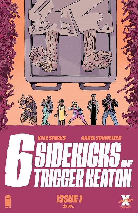 Cover of Six Sidekicks of Trigger Keaton #1