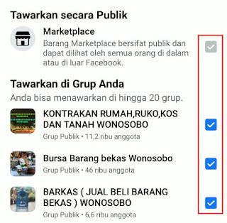 share postingan ke banyak grup facebook