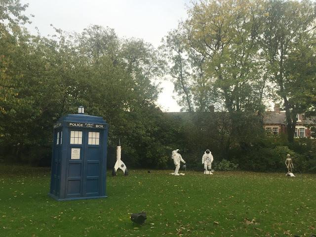 DR Who Tardis sunderland illumination Roker Park