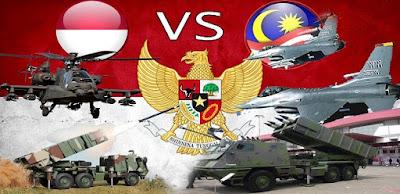 kekuatan militer indonesia vs malaysia