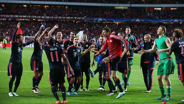 Bermain Imbang Bayern Munchen Lolos Semi Final Liga Champions