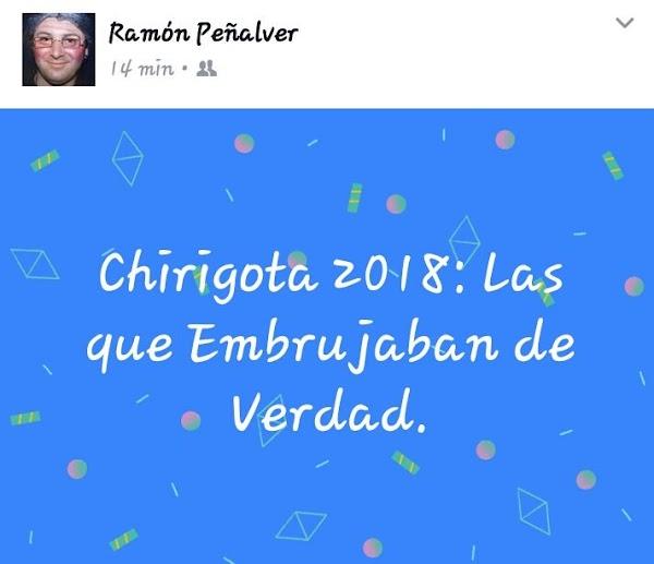 LA Chiriota de Cárdenas y Peñalver ya tiene nombre para el 2018
