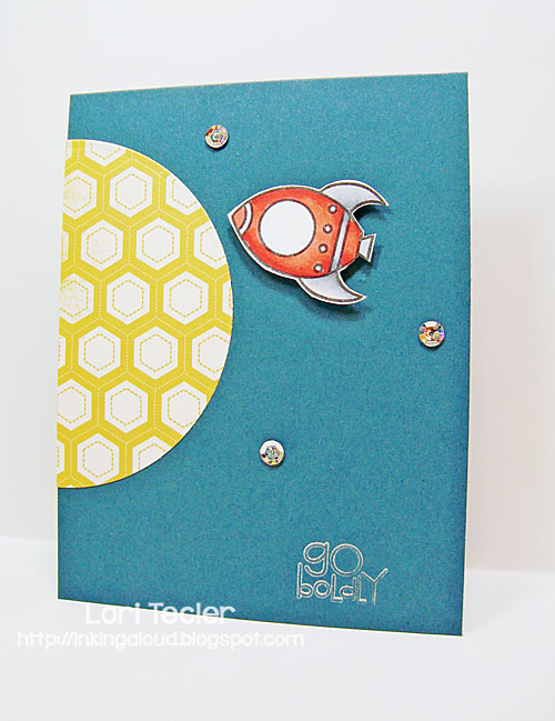 Go Boldly card-designed by Lori Tecler/Inking Aloud-stamps from Paper Smooches