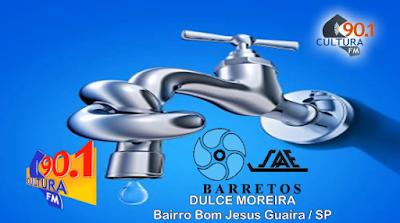 MUNÍCIPE AFIRMA QUE SAAE DE BARRETOS ALTERNA SERVIÇOS RUINS: APÓS CONSTANTES FALTAS D'ÁGUA, TORNEIRAS JORRAM ÁGUA SUJA  (CULTURA FM DE GUAIRA-SP)