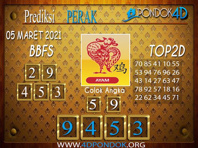 Prediksi Togel PERAK PONDOK4D 05 APRIL 2021
