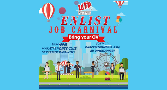#Enlist #jobfair #Tagmedia