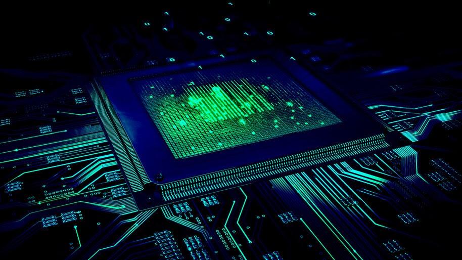 Chipset, Circuit, Digital Art, 8K, #4.2043