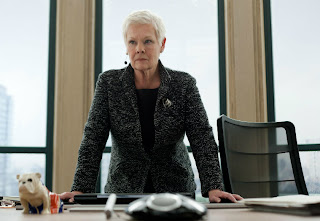 Judi Dench as M in Skyfall