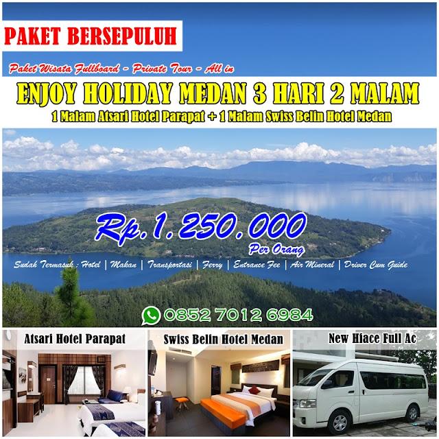 Brosur Paket Wisata Danau Toba