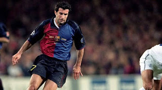 Luis Figo merupakan nama terakhir yang mencatatkan penampilan terbanyak untuk Blaugrana