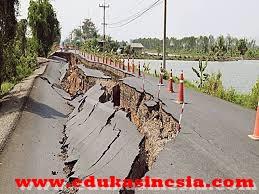 Pengertian Gempa Bumi, Macam-macam Gempa Bumi, Alat Pengukur Gempa Bumi, Jalur Gempa Bumi di Indonesia dan Akibat Gempa Bumi Beserta Penjelasannya Terlengkap